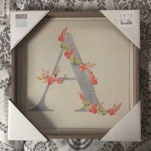 "Wall decor ""A"""